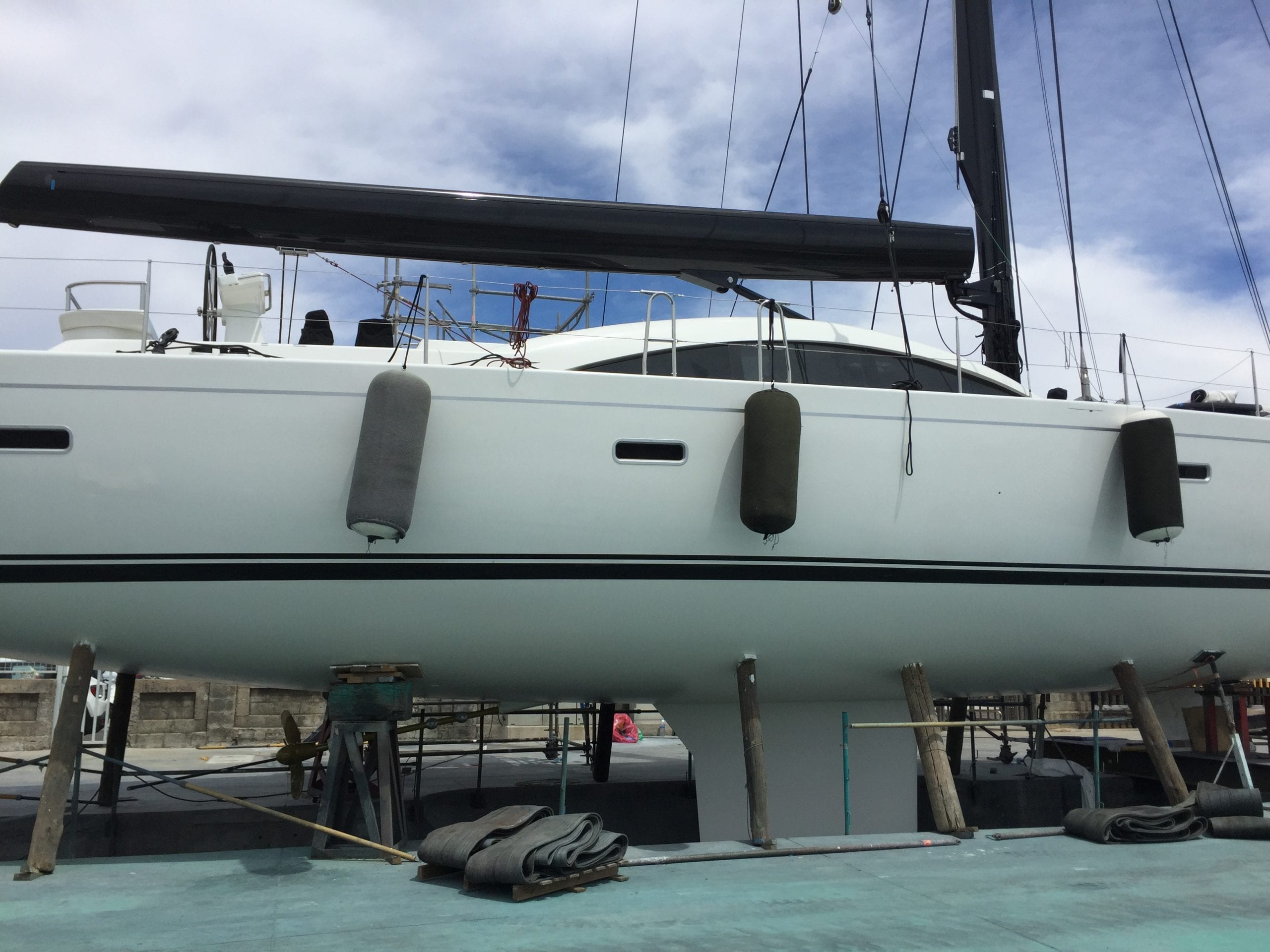 Yacht technical services: commisioning