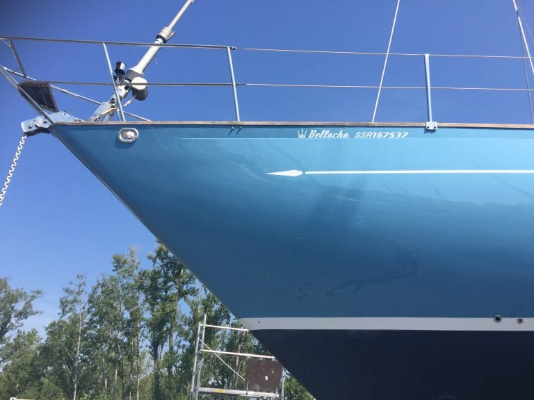 Yacht decals and stickers