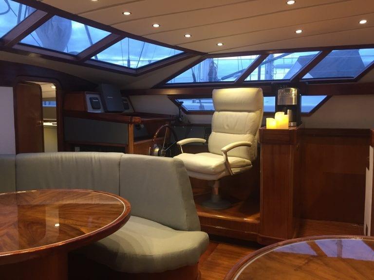 yacht interior renovation