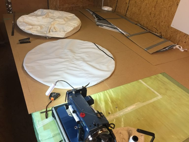Sail rigging and canvas repairs